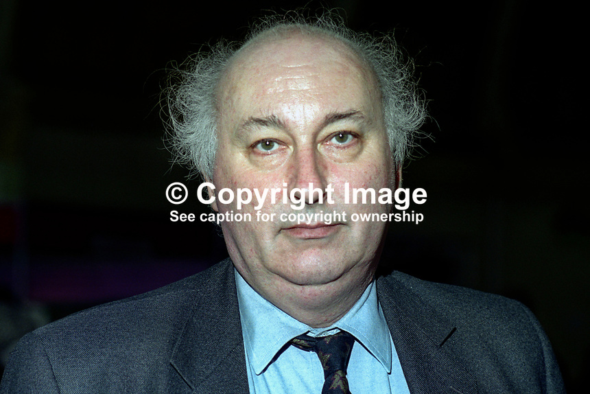Bruce George, MP, Labour Party, UK, at annual conference. 199409024.<br />
