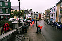 Pictured: Narberth town centre. Tuesday 11 July 2017<br /> Re: A family of Syrian refugees will be given accommodation in Narberth, Pembrokeshire, Wales, UK.