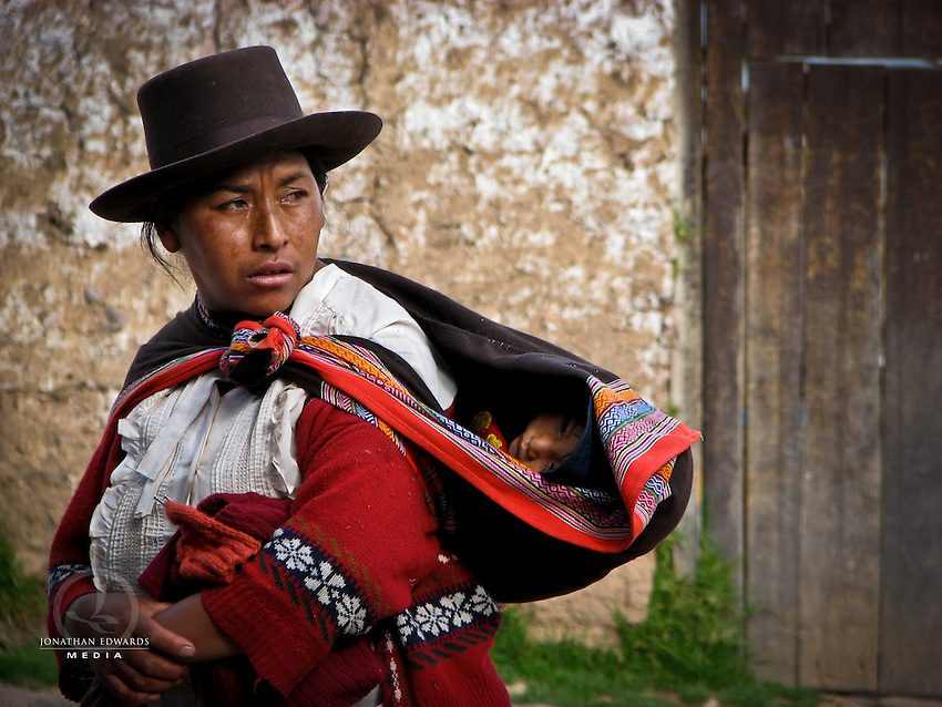 Mother and Child in Peru