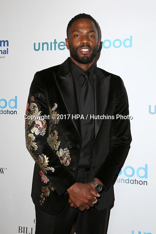 LOS ANGELES - APR 7:  Tobias Truvillion at the 4th Annual unite4:humanity Gala at the Beverly Wilshire Hotel on April 7, 2017 in Beverly Hills, CA