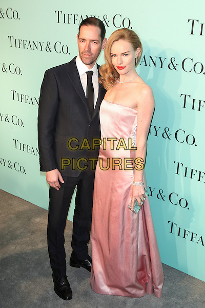 NEW YORK, NY - APRIL 10: Michael Polish, Kate Bosworth attend the Tiffany Debut of the 2014 Blue Book on April 10, 2014 at the Guggenheim Museum in New York City. <br /> CAP/MPI/COR<br /> &copy;Corredor99/ MediaPunch/Capital Pictures