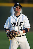 March 13, 2010:  Outfielder Zach Tobolowsky of the Yale Bulldogs vs. the Akron Zips in a game at Henley Field in Lakeland, FL.  Photo By Mike Janes/Four Seam Images
