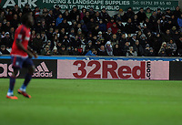 Sunday, 28 November 2012<br /> Pictured: 32 Red.<br /> Re: Barclays Premier League, Swansea City FC v West Bromwich Albion at the Liberty Stadium, south Wales.