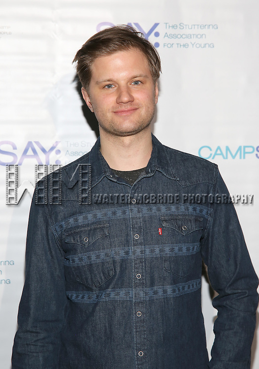 Michael Oberholtzer attends the 5th Annual Paul Rudd All-Star Bowling Benefit for (SAY) at Lucky Strike Lanes on February 13, 2017 in New York City.