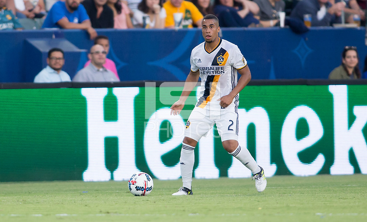 Carson, CA - Saturday July 29, 2017: Pele van Anholt during a Major League Soccer (MLS) game between the Los Angeles Galaxy and the Seattle Sounders FC at StubHub Center.