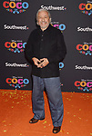 LOS ANGELES, CA - NOVEMBER 08: Actor Edward James Olmos arrives at the premiere of Disney Pixar's 'Coco' at El Capitan Theatre on November 8, 2017 in Los Angeles, California.