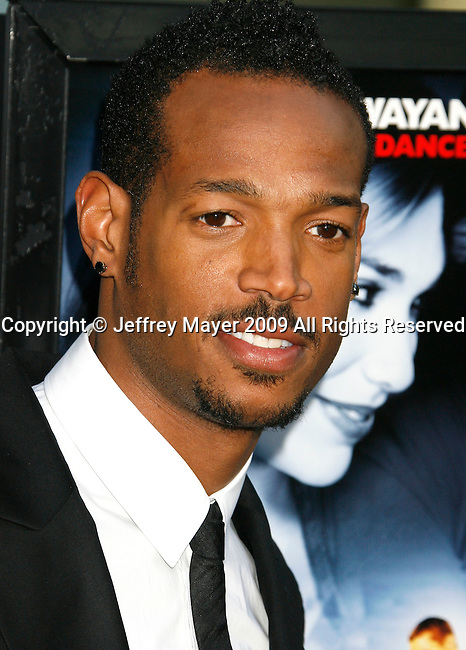 "HOLLYWOOD, CA. - May 20: Marlon Wayans  arrive at the Los Angeles Premiere of ""Dance Flick"" at the ArcLight Theatre on May 20, 2009 in Hollywood, California.HOLLYWOOD, CA. - May 20: Marlon Wayans arrives at the Los Angeles Premiere of ""Dance Flick"" at the ArcLight Theatre on May 20, 2009 in Hollywood, California."