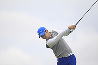 Hoyoung Choi of Team Republic of Korea on the 10th tee during Round 4 of the WATC 2018 - Eisenhower Trophy at Carton House, Maynooth, Co. Kildare on Saturday 8th September 2018.<br /> Picture:  Thos Caffrey / www.golffile.ie<br /> <br /> All photo usage must carry mandatory copyright credit (© Golffile | Thos Caffrey)