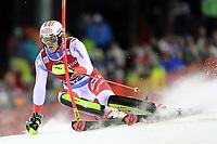 January 8th 2020, Madonna di Campiglio, Italy;  FIS Alpine Ski World Cup Men's Night Slalom in Madonna di Campiglio, Italy on January 8, 2020, Ramon Zenhaeusern (SUI) - Editorial Use