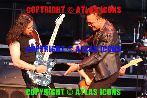Queensryche; Geoff Tate; Live, In New York City, On 6-17-2005<br /> Photo Credit: Eddie Malluk/Atlas Icons.com