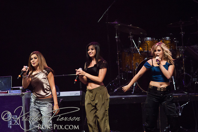 "The Varsity Girls perform at the Zeiterion Theater for the Fun 107 ""Girls Night Out"" concert on August 20, 2011"