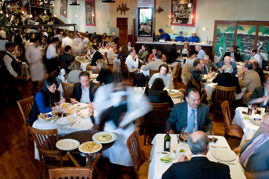 Federico Rigoletti's restaurant Puntarena in Palmas