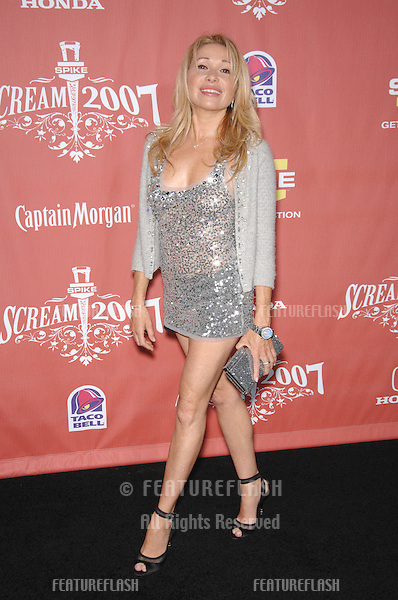"Elizabeth Daily aka E.G. Daily at Spike TV's ""Scream 2007"" Awards honoring the best in horror, sci-fi, fantasy & comic genres, at the Greak Theatre, Hollywood..October 20, 2007  Los Angeles, CA.Picture: Paul Smith / Featureflash"