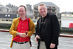Paul O'Hanrahan, Samba Festival Committee and Poet Dermot McGarthy at the Launch of the Samba Festival in the D Hotel...Photo NEWSFILE/Jenny Matthews.(Photo credit should read Jenny Matthews/NEWSFILE)....This Picture has been sent you under the condtions enclosed by:.Newsfile Ltd..The Studio,.Millmount Abbey,.Drogheda,.Co Meath..Ireland..Tel: +353(0)41-9871240.Fax: +353(0)41-9871260.GSM: +353(0)86-2500958.email: pictures@newsfile.ie.www.newsfile.ie.FTP: 193.120.102.198.