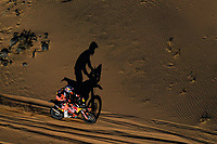 5th January 2020, Jeddah, Saudi Arabia;  01 Price Toby aus, KTM, Red Bull KTM Factory Team during Stage 1 of the Dakar 2020 between Jeddah and Al Wajh, 752 km - Editorial Use