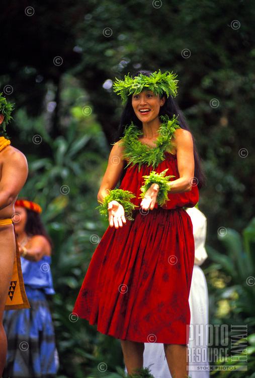 Prince Lot hula festival performance at Moanalua gardens, Oahu
