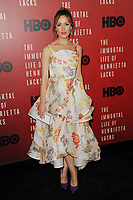 www.acepixs.com<br /> April 18, 2017  New York City<br /> <br /> Rose Byrne attending 'The Immortal Life of Henrietta Lacks' premiere at SVA Theater on April 18, 2017 in New York City.<br /> <br /> Credit: Kristin Callahan/ACE Pictures<br /> <br /> <br /> Tel: 646 769 0430<br /> Email: info@acepixs.com