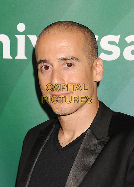 BEVERLY HILLS, CA- JULY 14: Actor Kirk Acevedo attends the 2014 Television Critics Association Summer Press Tour - NBCUniversal - Day 2 held at the Beverly Hilton Hotel on July 14, 2014 in Beverly Hills, California.<br /> CAP/ROT/TM<br /> &copy;Tony Michaels/Roth Stock/Capital Pictures
