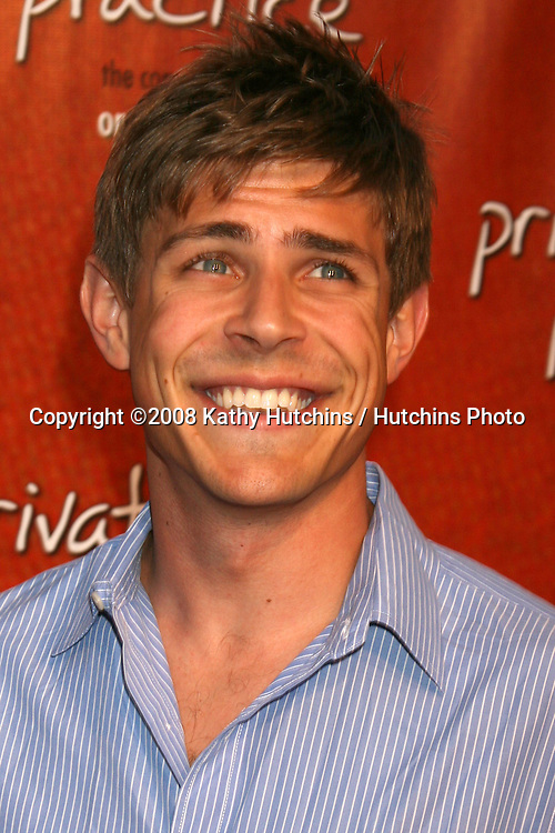 """Chris Lowell arriving at the """"Private Practice"""" Season One DVD Launch Party at the Hollywood Roosevelt Hotel  in  Los Angeles, CA on.September 2, 2008.©2008 Kathy Hutchins / Hutchins Photo...."""