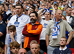 Tranmere Rovers 1 Forest Green Rovers 3, 14/05/2017. Wembley Stadium, Conference play off Final. Tranmere fans during the Vanarama Conference play off Final  between Tranmere Rovers v Forest Green Rovers at the Wembley. Photo by Paul Thompson.