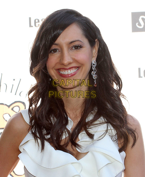 Charlene Amoia.Petit Ermitage Sponsors Launch of Louise Ashby Children's Fund.Held at LPB Malibu Beach House, Malibu, California, USA..August 21st, 2011.headshot portrait white.CAP/ADM/KB.©Kevan Brooks/AdMedia/Capital Pictures.