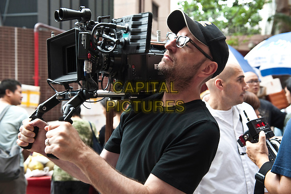 Director STEVEN SODERBERGH .on the set of Contagion .*Filmstill - Editorial Use Only*.CAP/FB.Supplied by Capital Pictures.
