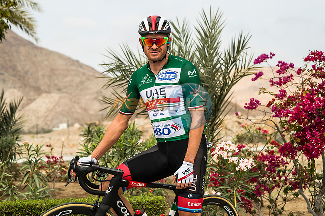 Alexander Kristoff (NOR) UAE Team Emirates before the start of Stage 4 of 10th Tour of Oman 2019, running 131km from Yiti (Al Sifah) to Oman Convention and Exhibition Centre, Oman. 19th February 2019.<br /> Picture: ASO/Kåre Dehlie Thorstad | Cyclefile<br /> All photos usage must carry mandatory copyright credit (© Cyclefile | ASO/Kåre Dehlie Thorstad)