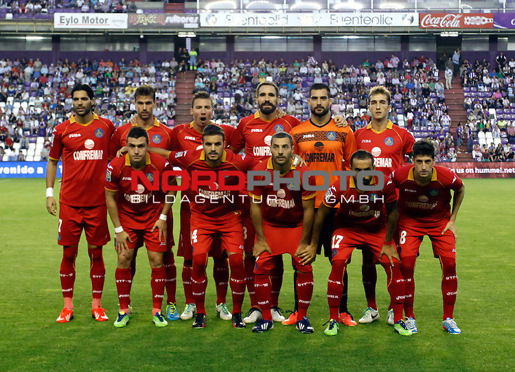 Getafe's players during La Liga match.August 31,2013. Foto © nph / Victor Blanco)