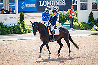 NED-Nicole den Dulk rides Wallace NOP during the FEI World Freestyle Para Dressage Championships - Grade II. 2018 FEI World Equestrian Games Tryon. Saturday 22 September. Copyright Photo: Libby Law Photography