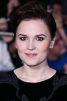 """WESTWOOD, LOS ANGELES, CA, USA - MARCH 18: Veronica Roth at the World Premiere Of Summit Entertainment's """"Divergent"""" held at the Regency Bruin Theatre on March 18, 2014 in Westwood, Los Angeles, California, United States. (Photo by David Acosta/Celebrity Monitor)"""