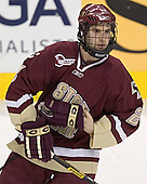 Anthony Aiello - The Boston University Terriers defeated the Boston College Eagles 2-1 in overtime in the March 18, 2006 Hockey East Final at the TD Banknorth Garden in Boston, MA.
