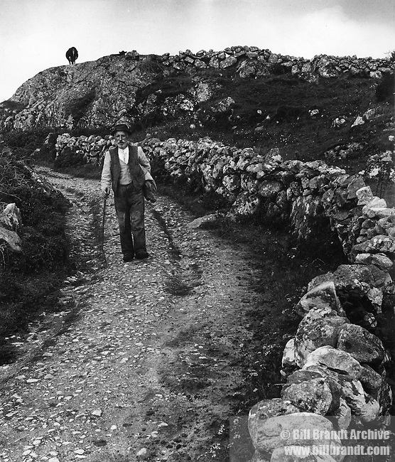 Peasant in Connemara 1946