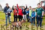 Lixnaw Vintage Rally : Pictured at the Lixnaw Vintage Rally on Sunday last were Fiachra & Kaelan Dunne, Luke connolly, Michael Canty, Colin McElligott O'Brien, Sean Sheehy, Dylan Murphy, Lee Caffery & Michael Nolan with a pygmy goat in front.