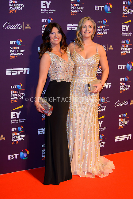 www.acepixs.com<br /> <br /> April 27 2017, London<br /> <br /> Bianca Westwood (L) and Hayley McQueen arriving at the BT Sport Industry Awards at Battersea Evolution on the 27th April 2017 at Battersea Evolution, London<br /> <br /> By Line: Famous/ACE Pictures<br /> <br /> <br /> ACE Pictures Inc<br /> Tel: 6467670430<br /> Email: info@acepixs.com<br /> www.acepixs.com