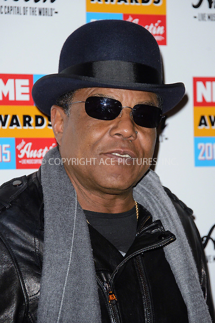 WWW.ACEPIXS.COM<br /> <br /> February 18 2015, London<br /> <br /> Tito Jackson attends the NME Awards 2015 at the Brixton Academy on February 18 2015 in London. <br /> <br /> By Line: Famous/ACE Pictures<br /> <br /> <br /> ACE Pictures, Inc.<br /> tel: 646 769 0430<br /> Email: info@acepixs.com<br /> www.acepixs.com