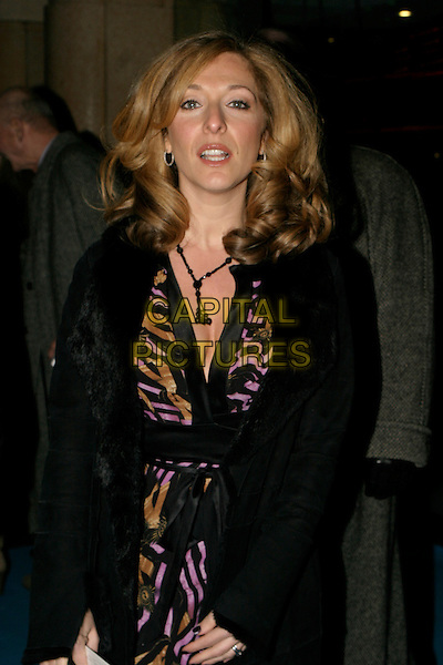 "TRACY-ANN OBERMAN.""Mrs. Henderson Presents"" - UK film premiere at Vue West End, London, UK..November 23rd, 2005.Ref: AH.Tracey half length cleavage.www.capitalpictures.com.sales@capitalpictures.com.© Capital Pictures."