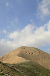 The Horn of Sartaba, site of the Hasmonean fortress Alexandrion (Alexandrium), 650 meters obove the Jordan Valley
