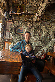 USA, Alaska, Homer, China Poot Bay, Kachemak Bay, inside of the Salty Dog Saloon on Homer Spit