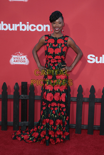 WESTWWOD, CA - October 22: Karimah Westbrook, At The Premiere Of Paramount Pictures' 'Suburbicon' At the Village Theatre California on October 22, 2017. <br /> CAP/MPI/FS<br /> &copy;FS/MPI/Capital Pictures