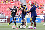 09 August 2014: RSL assistant coach Craig Waibel. Real Salt Lake hosted DC United at Rio Tinto Stadium in Sandy, Utah in a 2014 Major League Soccer regular season game. Salt Lake won the game 3-0.