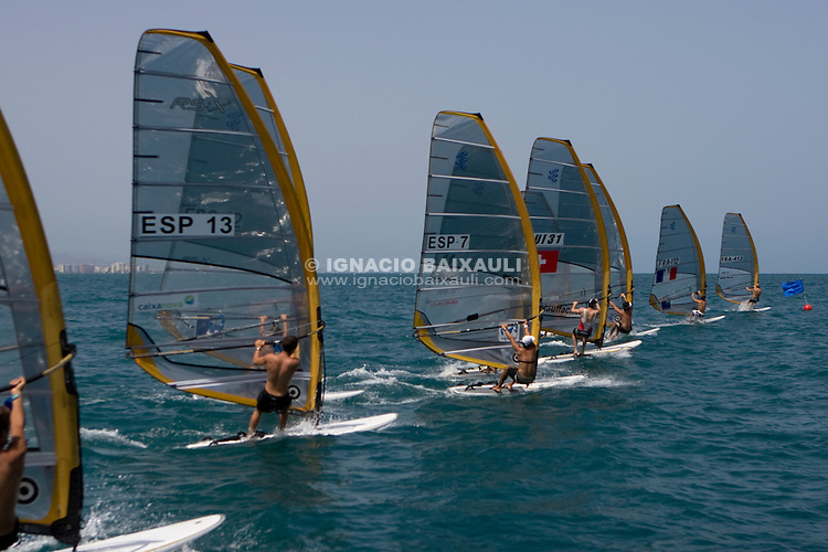 Race start.II Master Golden Series RS:X Marina Juan Carlos I