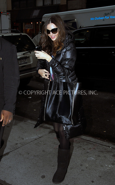 WWW.ACEPIXS.COM . . . . .  ....November 23 2011, New York City....Model Miranda Kerr heads into her Chelsea apartment on November 23 2011 in New York City....Please byline: CURTIS MEANS - ACE PICTURES.... *** ***..Ace Pictures, Inc:  ..Philip Vaughan (212) 243-8787 or (646) 679 0430..e-mail: info@acepixs.com..web: http://www.acepixs.com