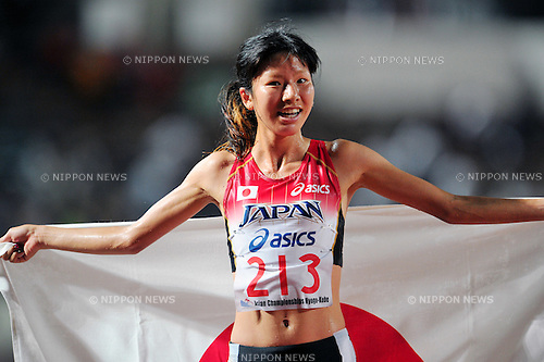 Hitomi Niiya (JPN), JULY 9, 2011 - Athletics :The 19th Asian Athletics Championships Hyogo/Kobe, Women's 5000m Final at Kobe Sports Park Stadium, Hyogo ,Japan. (Photo by Jun Tsukida/AFLO SPORT) [0003]