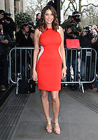 Lisa Snowdon arriving for the TRIC Awards 2014, at Grosvenor House Hotel, London. 11/03/2014 Picture by: Alexandra Glen / Featureflash