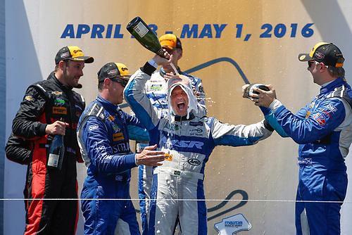 29 April - May 1, 2016, Monterey, California<br /> , 60, Honda HPD, Ligier JS P2, P, John Pew, Oswaldo Negri, Jr.<br /> ©2016, Michael L. Levitt<br /> LAT Photo USA