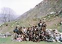 Iraq 1980 .In april, in Toujala, a group of peshmergas    .Irak 1980 .En avril a Toujala,un groupe de pesmergas
