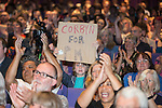 © Joel Goodman - 07973 332324 . 23/07/2016 . Salford , UK . Supporters at the event . Jeremy Corbyn launches his campaign to be re-elected Labour Party leader , at the Lowry Theatre at Salford Quays . Photo credit : Joel Goodman