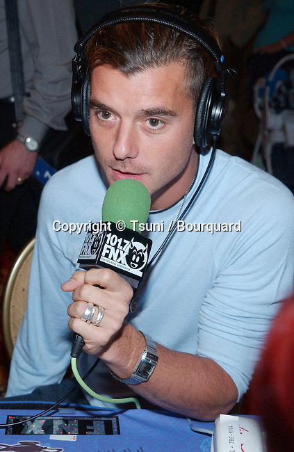Bush frontman, Gavin Rossdale at the Radio MegaBlast, a two-day event packed with live radio broadcasts, receptions, concerts, awards ceremonies and more at the Aladdin Resort and Casino,  Thursday, Oct. 25, 2001.            -            RossdaleGavin_Bush01.jpg