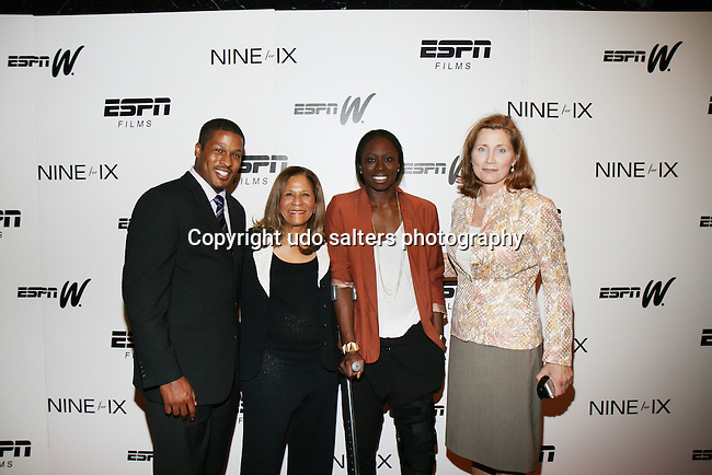 New York Special Screening of ESPN Films & espnW's VENUS VS. & COACH (Tribeca Film Festival 'Best Documentary Short' Award-Winner) Held at The Paley Center for Media