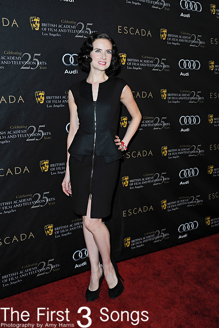 Victoria Summer attends the 2012 BAFTA Golden Globes Tea Party at the Four Seasons Hotel in Beverly Hills, CA on Saturday, January 14, 2012.